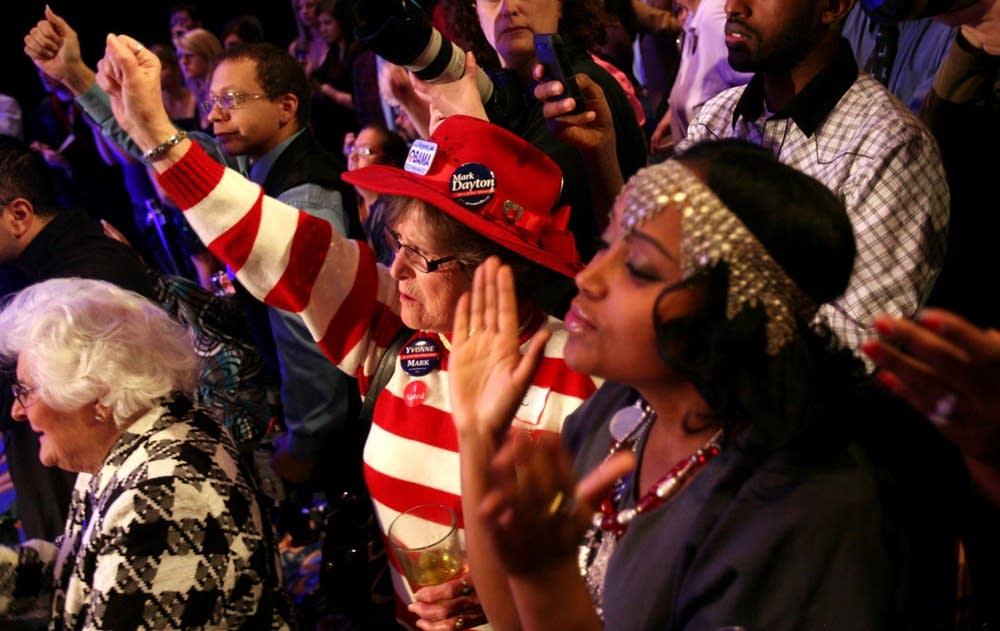 Dayton supporters