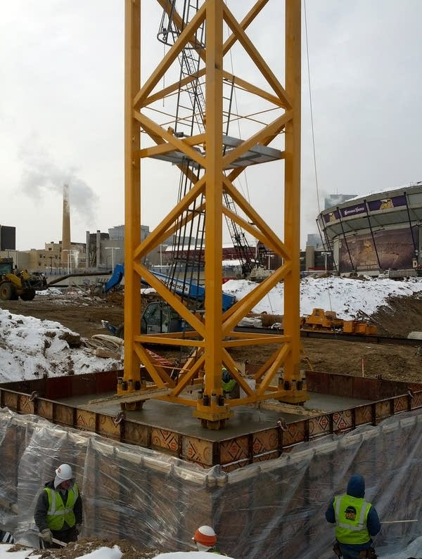 Crane-tower
