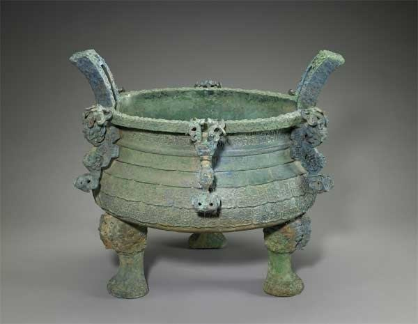 A Chinese cauldron