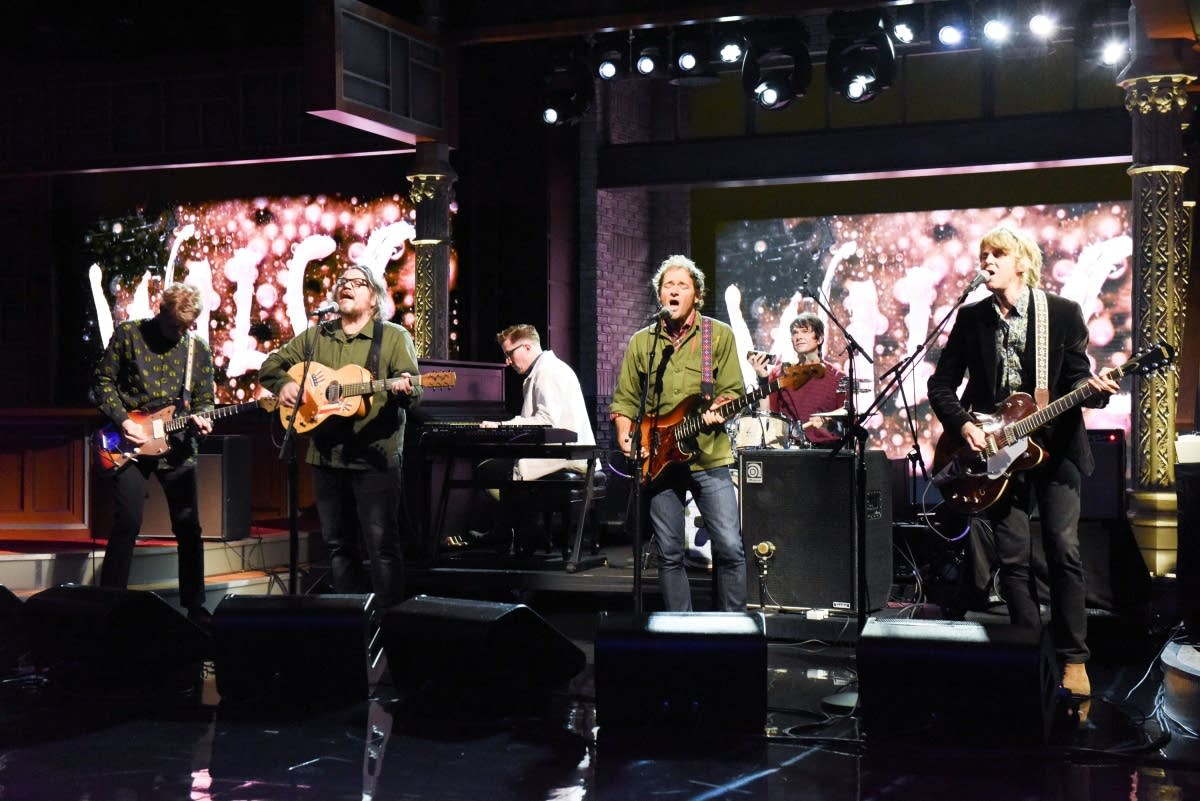 Wilco perform on 'The Late Show with Stephen Colbert'