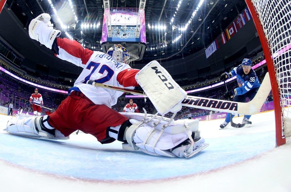 Finalnd beats Russia