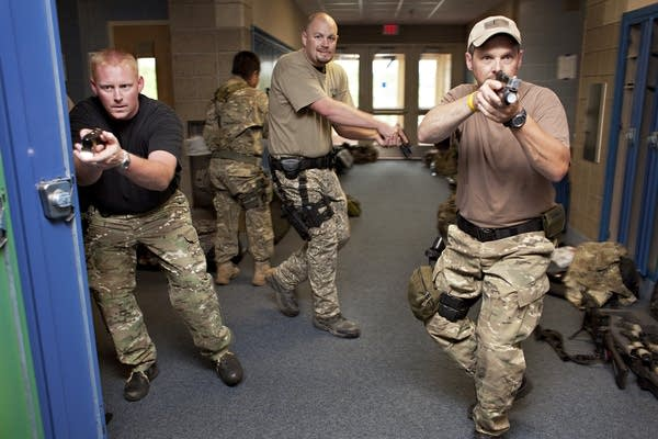 West Central Minnesota S.W.A.T. training
