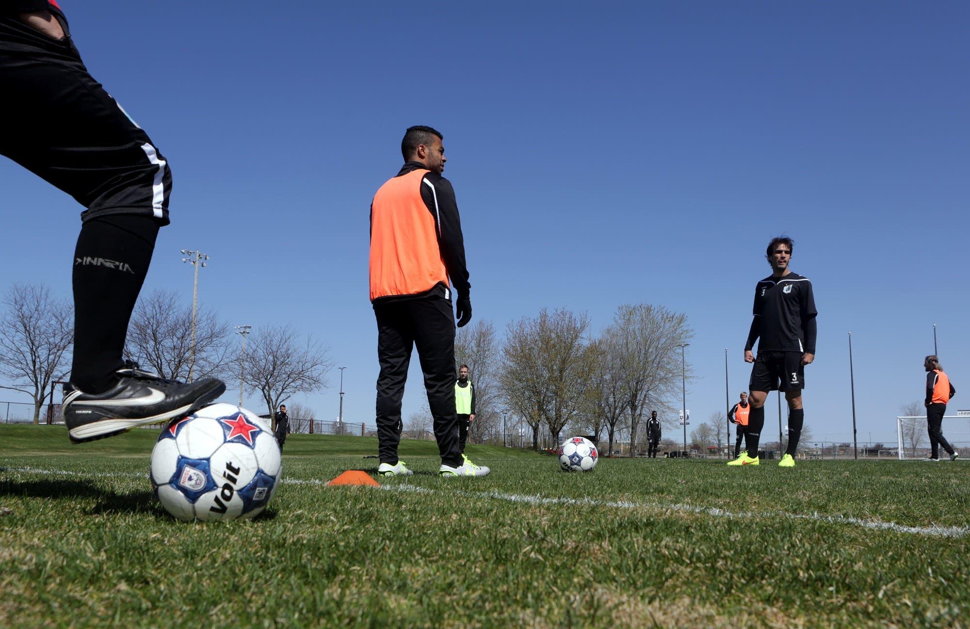 MN United FC training