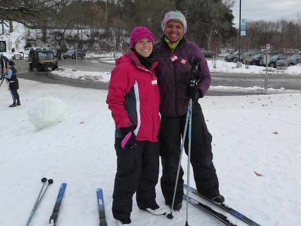 Sarina Long (left) and Sheila Williams Ridge