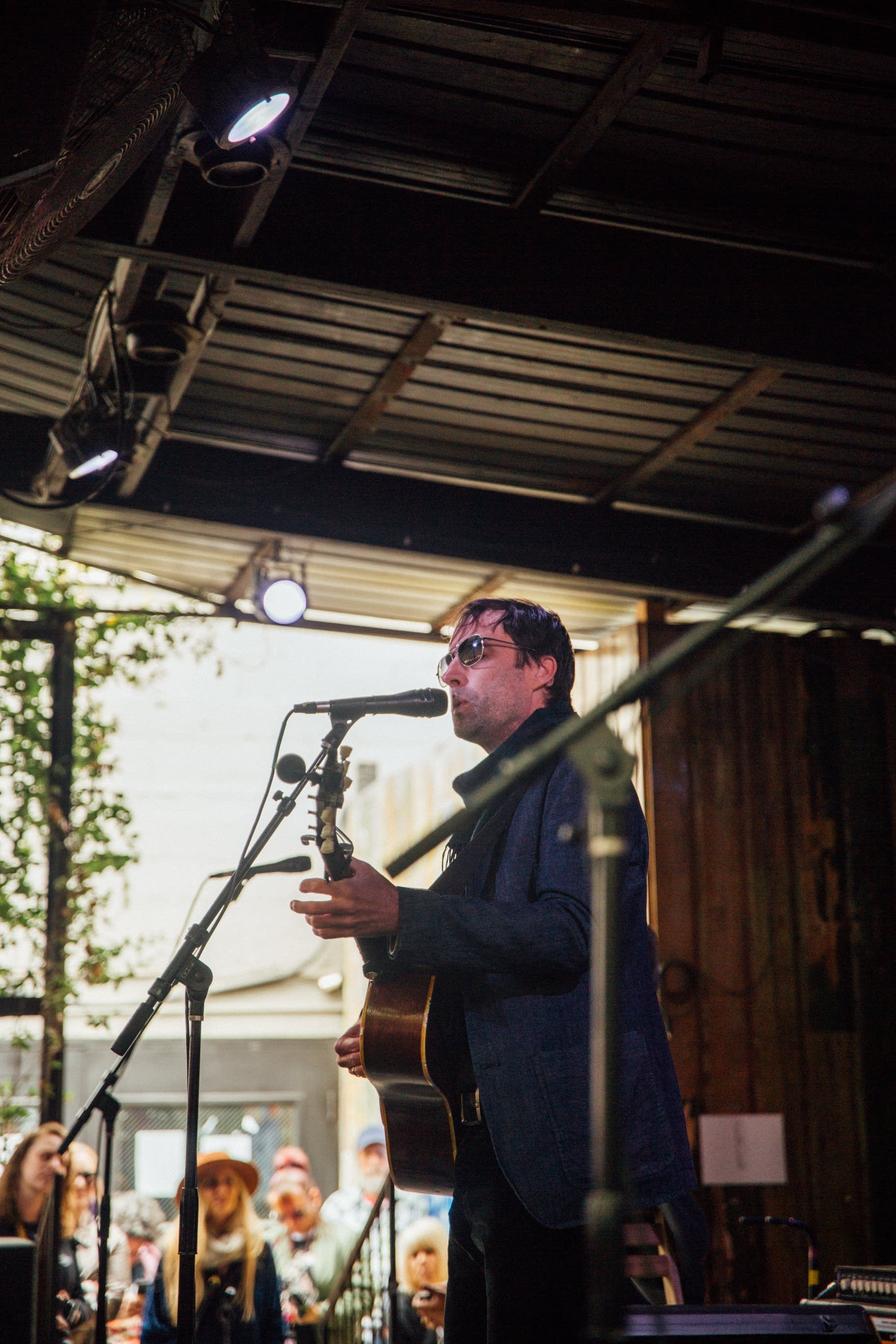 Andrew Bird performs at The Current Day Party during SXSW