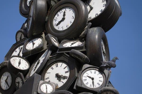 Installation of clocks