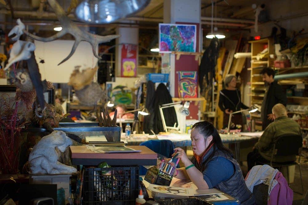 Artist Ansen Chow
