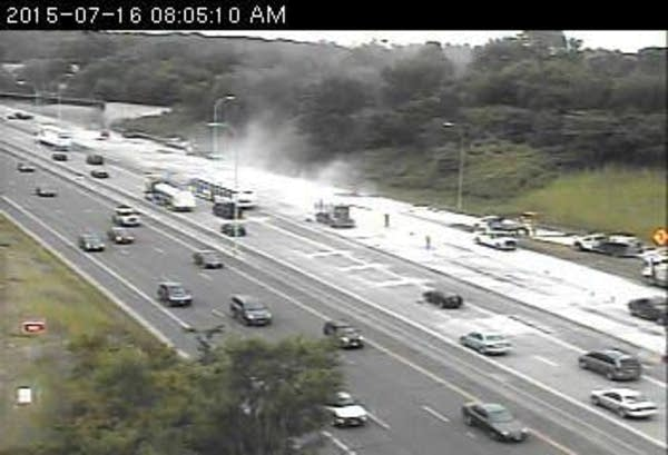 MnDOT traffic camera: I-394 at I-94