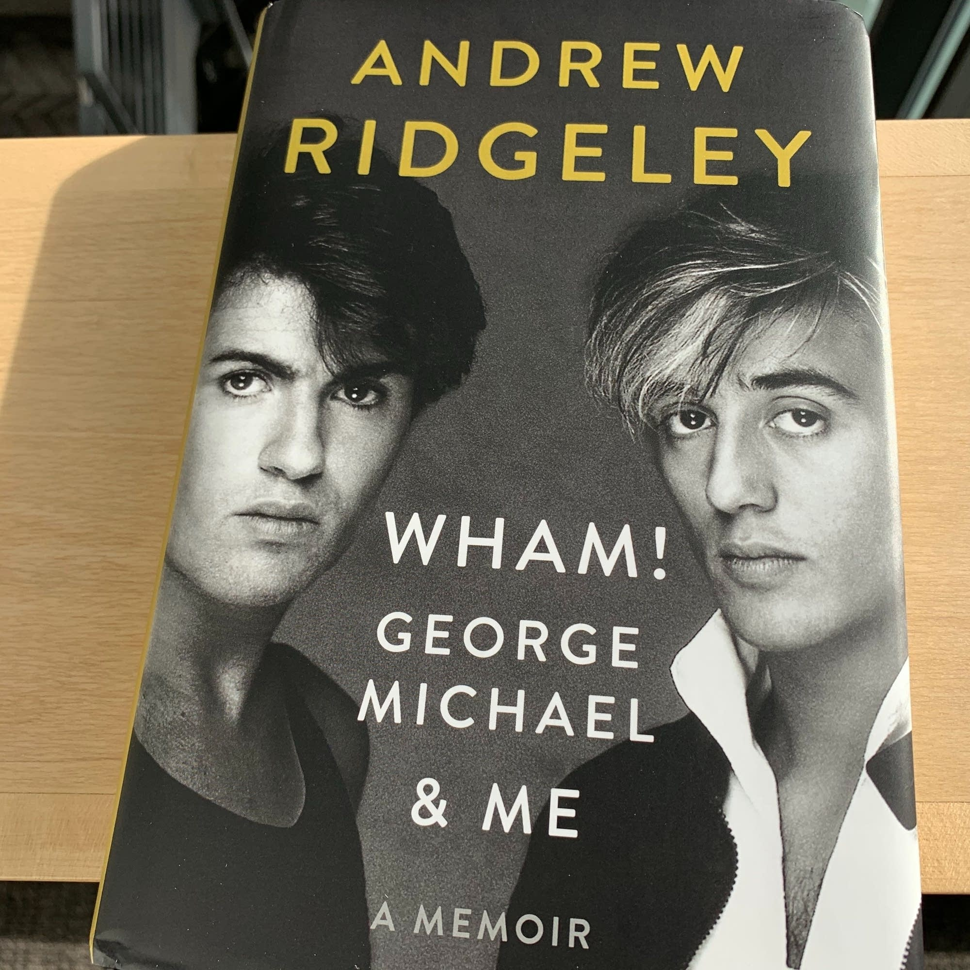 Andrew Ridgeley's book 'Wham!, George Michael & Me.'