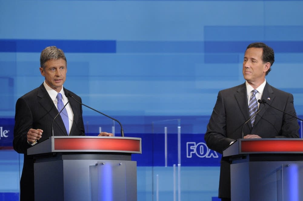 Presidential candidates debate