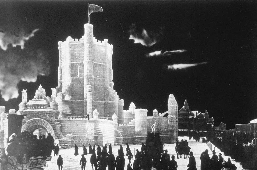 The 1887 ice palace