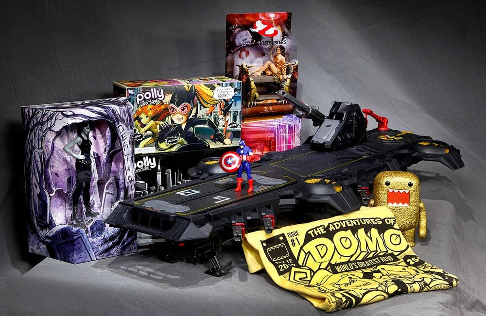 Comic-Con collectibles