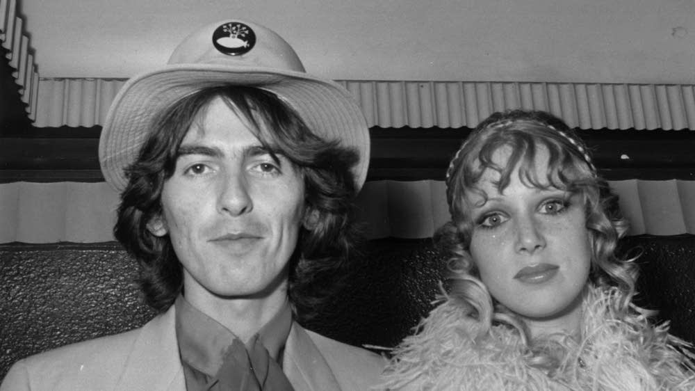 George Harrison and Pattie Boyd in 1968