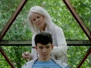 Ellen Burstyn and Asa Butterfield in 'The House of Tomorrow.'