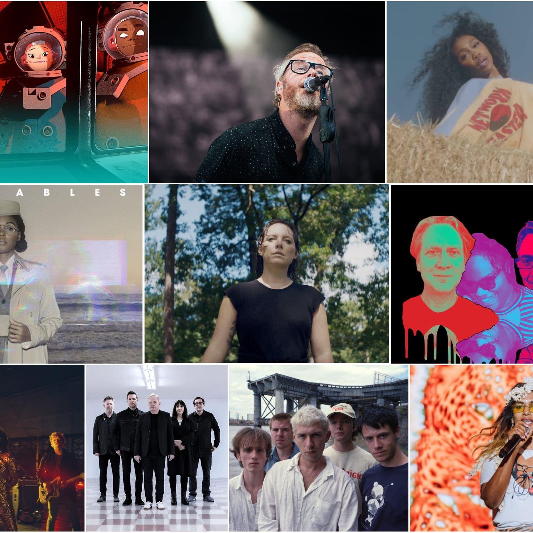 New music collage for September 2020
