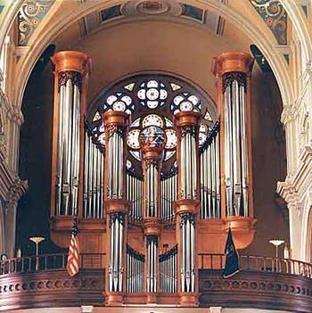 1990 Wigton organ at Saint Mary's Church in Detroit, Michigan