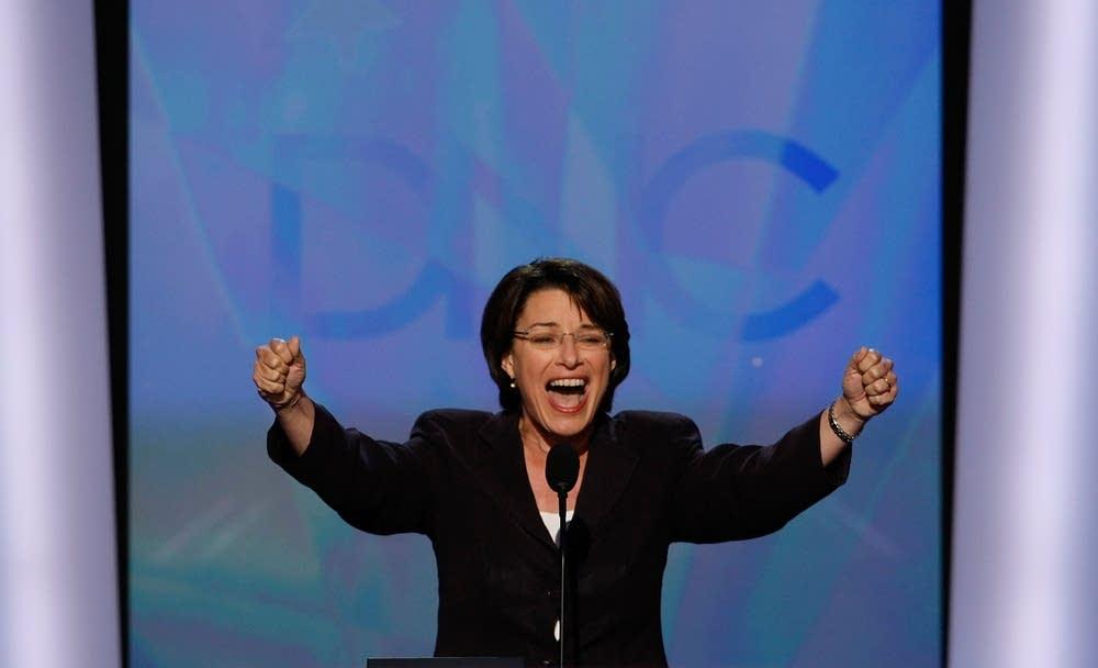 Minnesota's Amy Klobuchar at the DNC