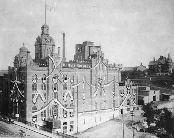 Hamm's Brewery, circa 1900