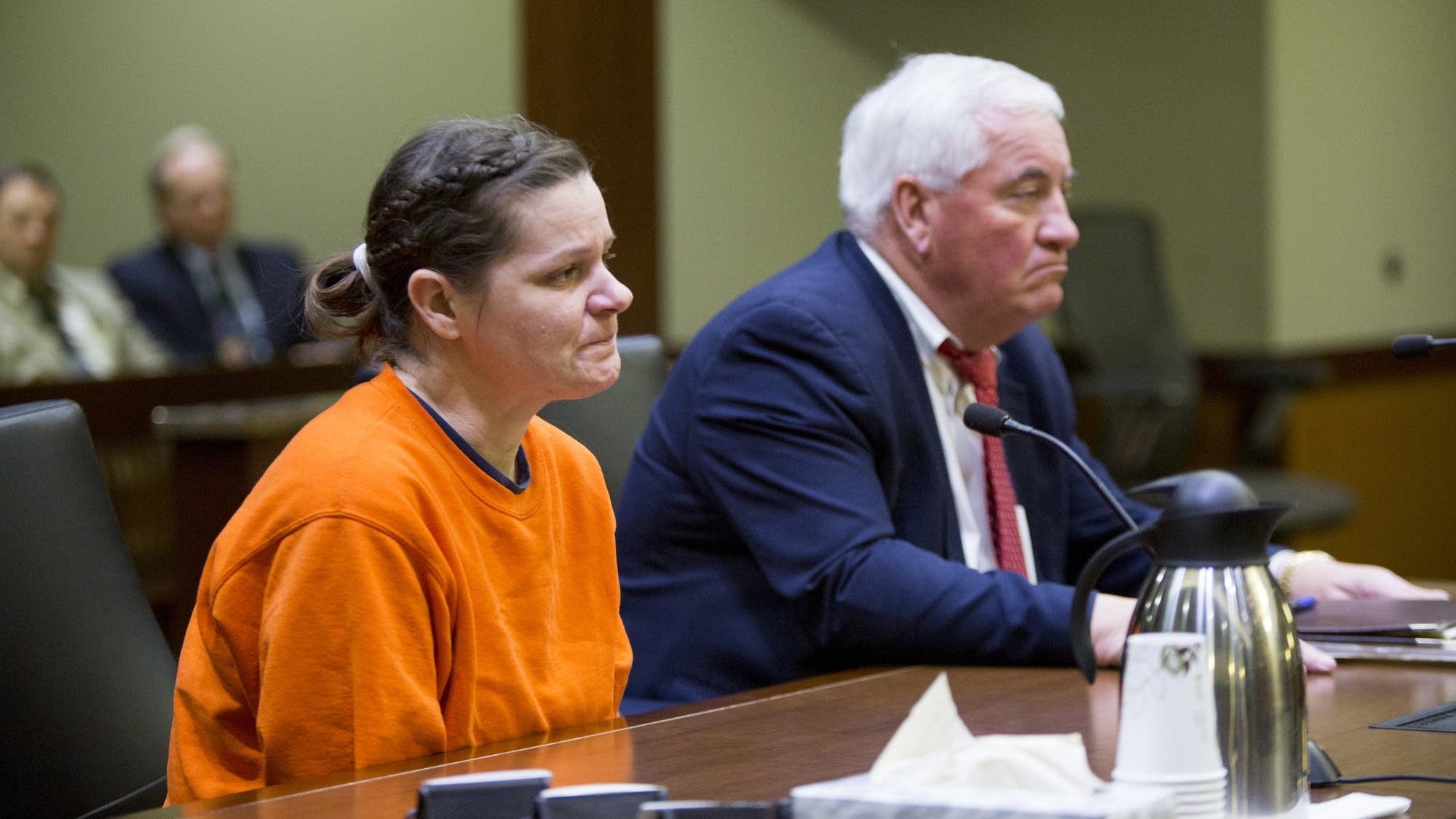 Brooke Crews pleads guilty to conspiracy to commit murder.