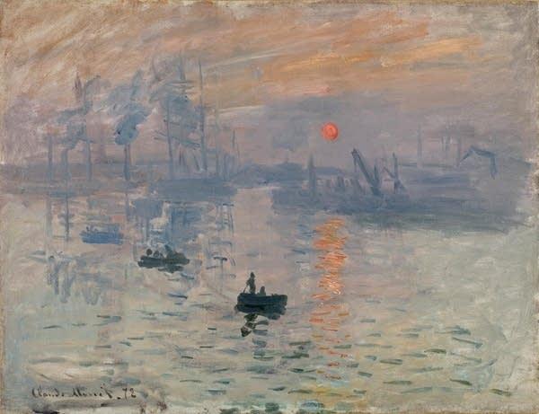 Claude Monet's 'Impression, Sunrise'