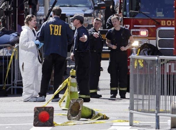 FBI, firefighters