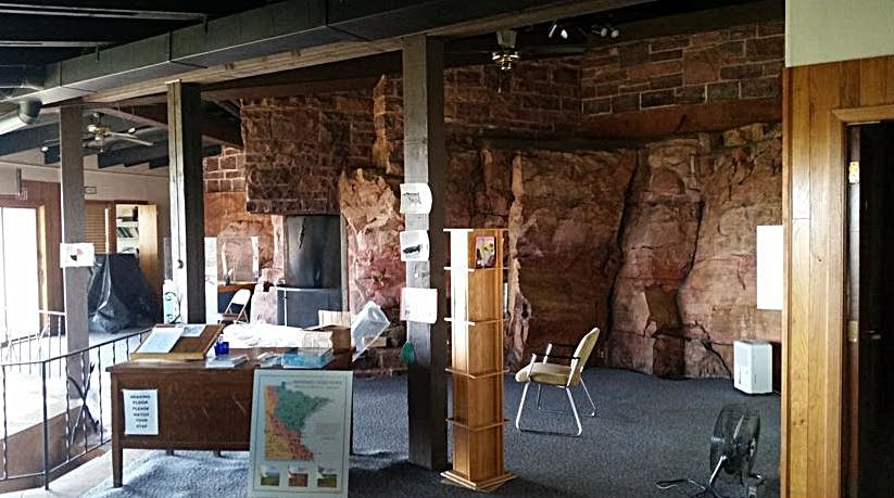 The Frederick Manfred House Visitor Center at Blue Mounds State Park