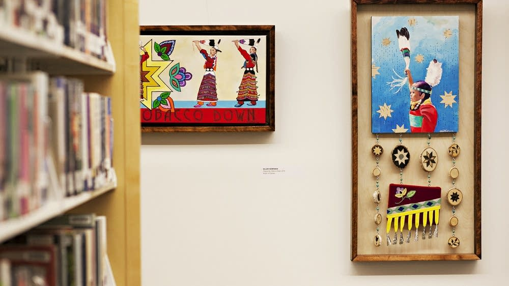 Missing, but not forgotten: Fargo library art exhibit tells