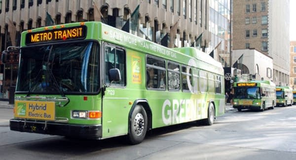 'Green' bus