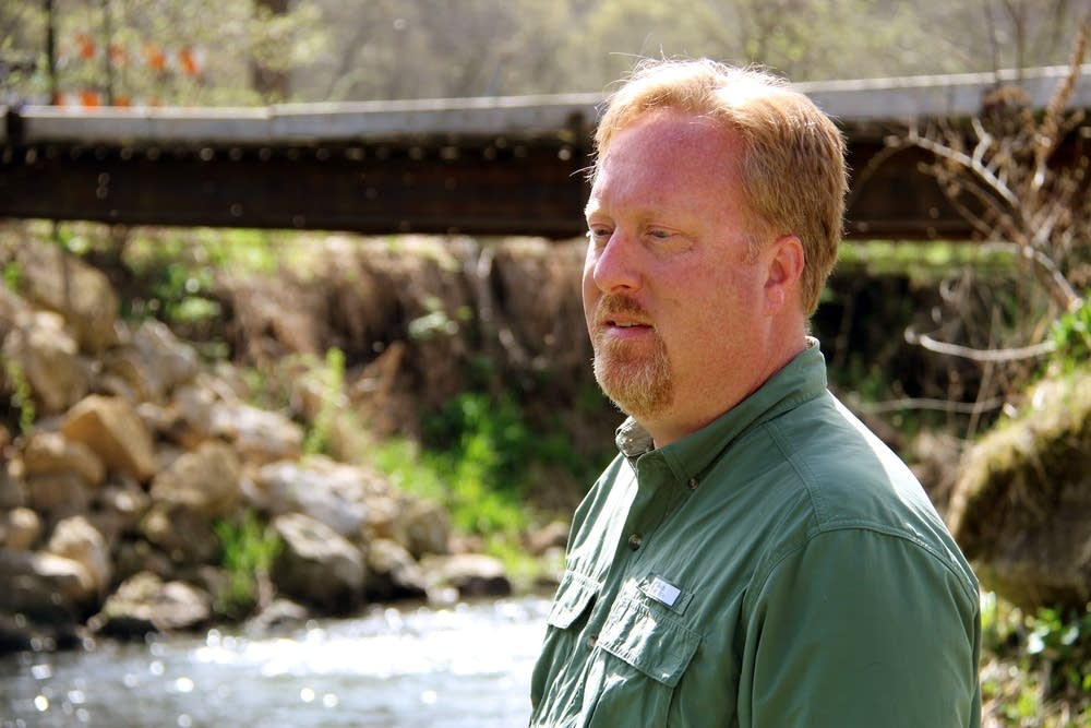 Vaughn Snook, DNR fisheries manager