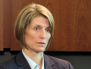 Jill Sanborn, the new Special Agent in Charge of the FBI's Mpls. Division