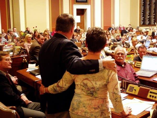 A Capitol farewell