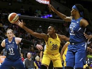 The Lynx play the Sparks.