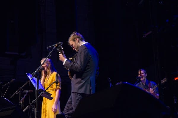 Madison Cunningham, Chris Thile, and Chris Eldridge
