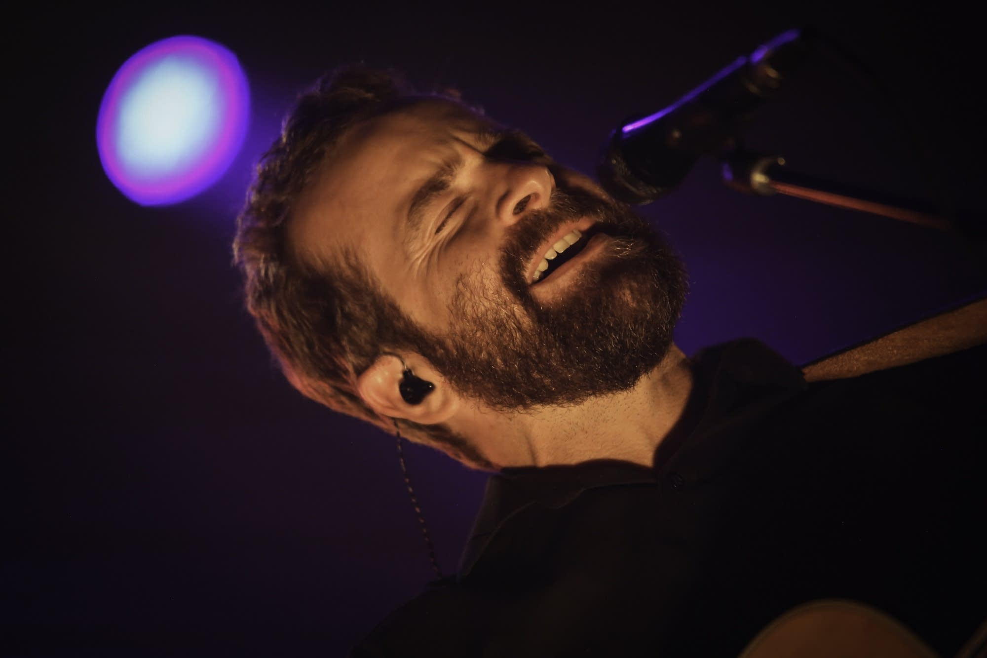 Dave Simonett of Trampled by Turtles at the Palace Theatre