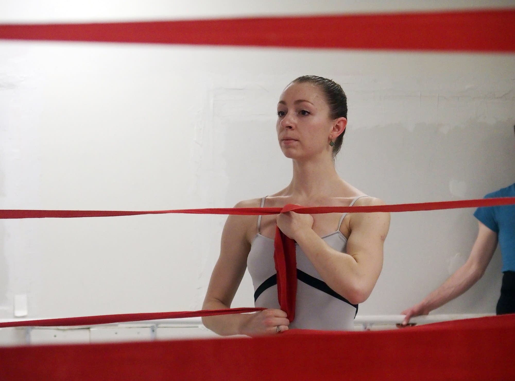 St. Paul Ballet Artistic Director Zoe Henrot is dancing in 'To Billy.'