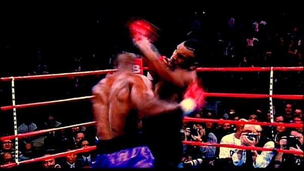 Tyson in the ring