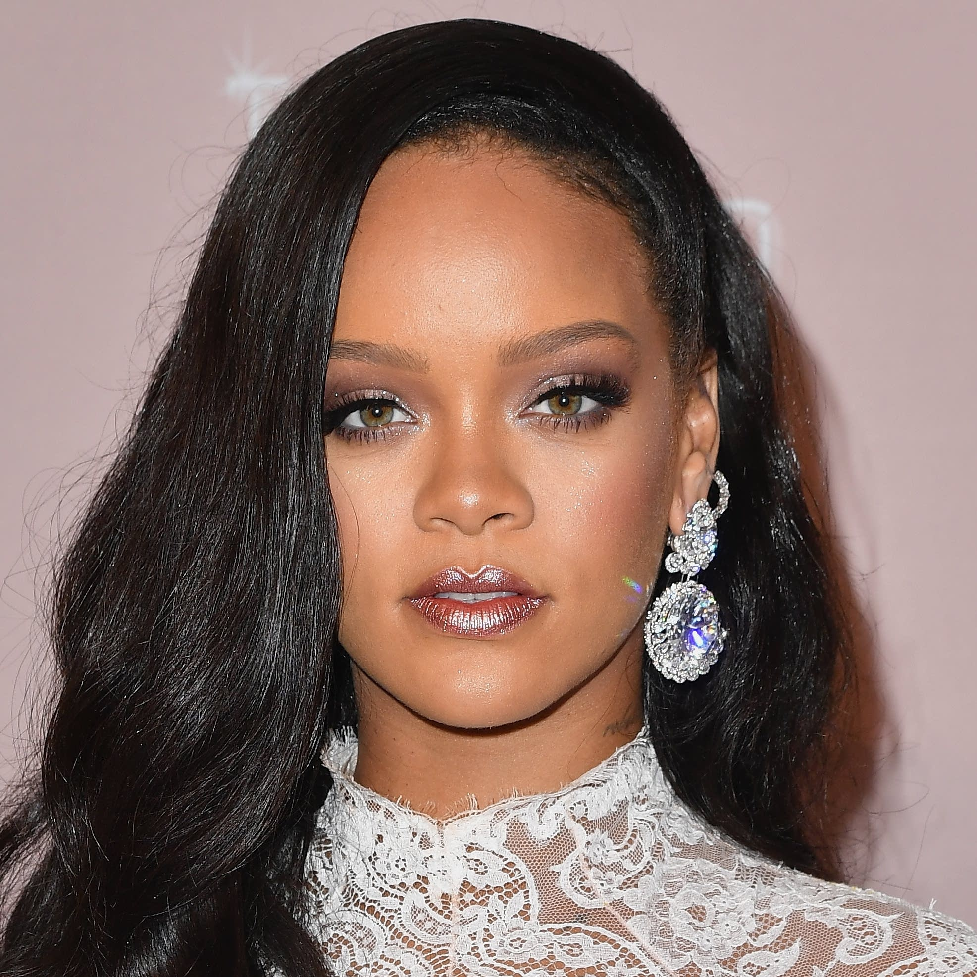 Rihanna attends her 4th Annual Diamond Ball at Cipriani Wall Street