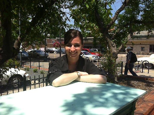 Kelsey Shanesy, project coordinator