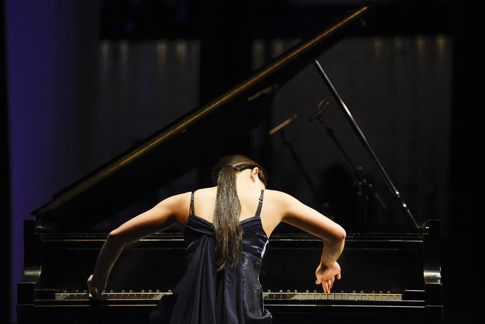 Pianist Megan Ruan