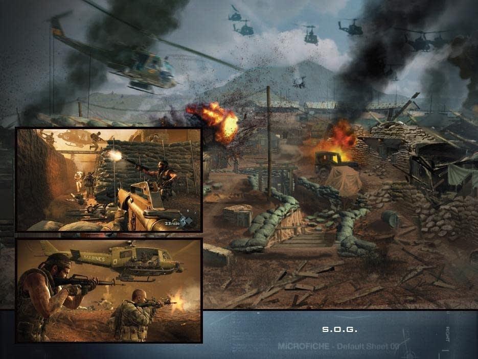 S.O.G. in COD: Black Ops