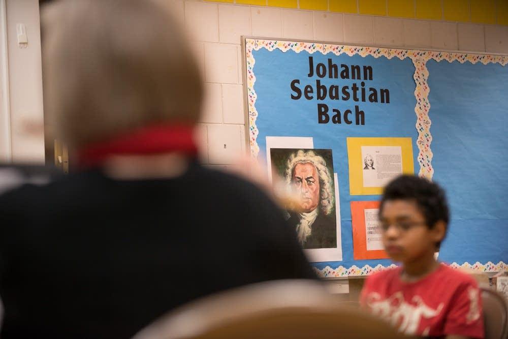J S Bach focus