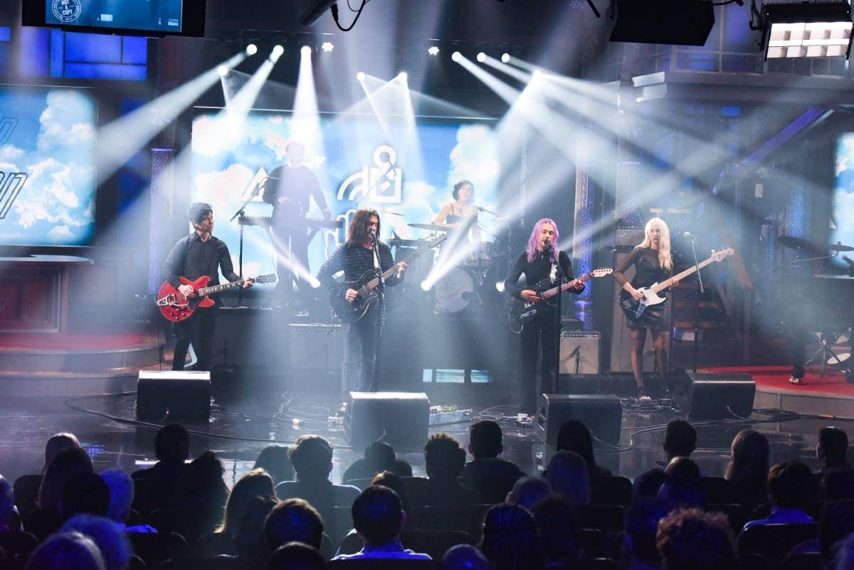 Better Oblivion Community Center debut on 'Colbert'