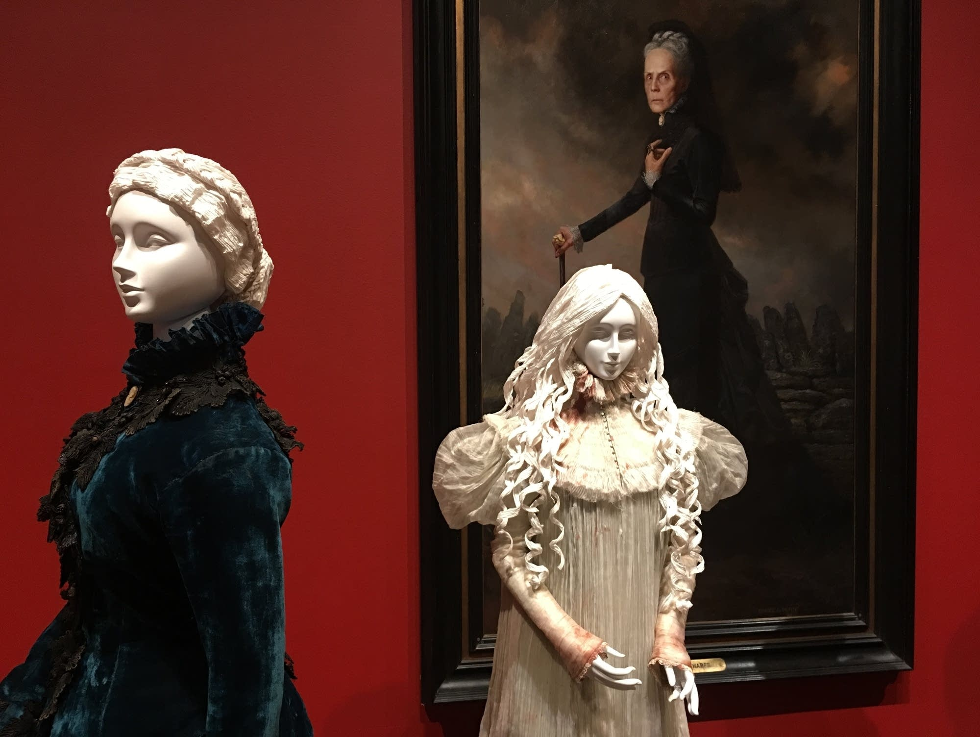 Costumes from 'Crimson Peak'
