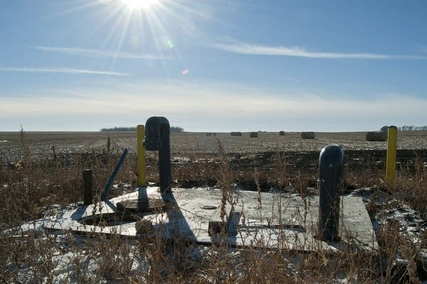 The end of the Lewis and Clark water pipeline