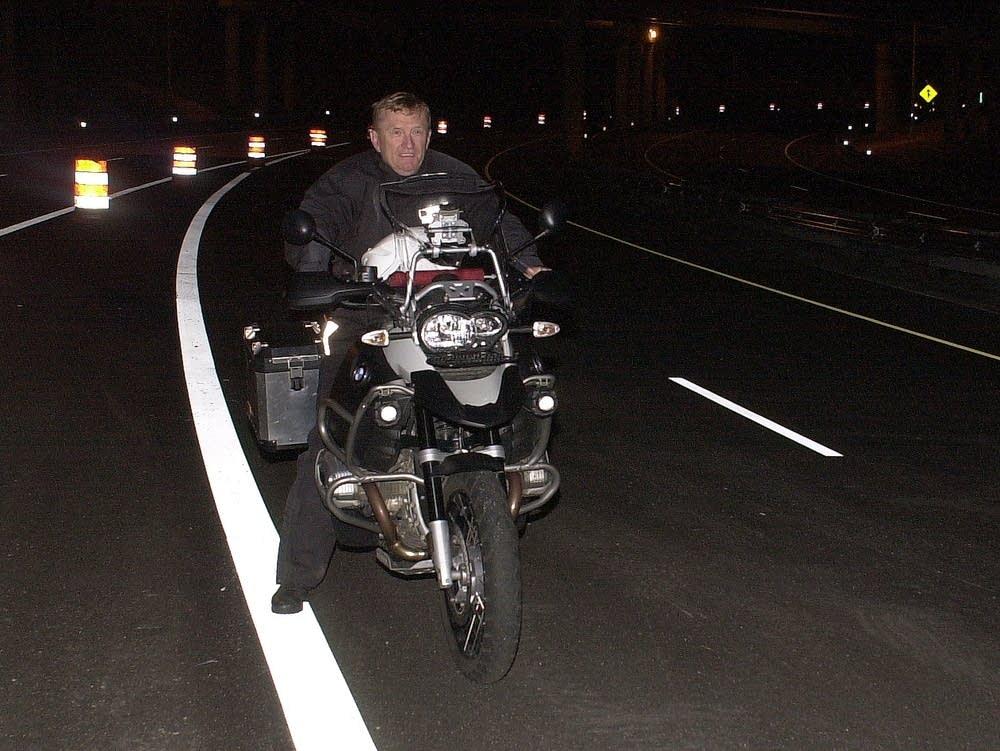 Motorocylist Doug Dokken
