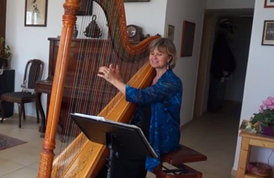 Harpist Sunita Staneslow