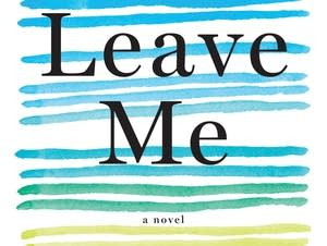 """Leave me"" book cover"