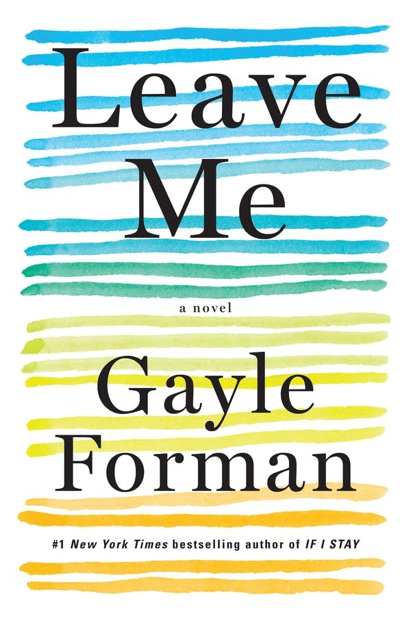 """""""Leave me"""" book cover"""