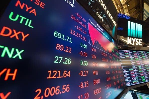 New York stock market