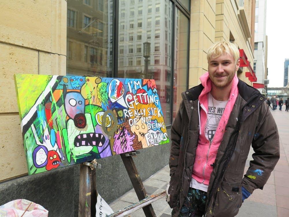 Artist Sammy thrashLife